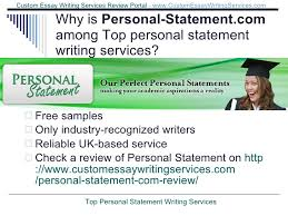 Best personal statement writing services   Essay custom uk