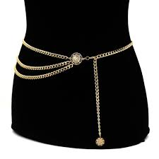 <b>New Fashion Luxury</b> Designer Brand Metal Chain Belt For <b>Women</b> ...