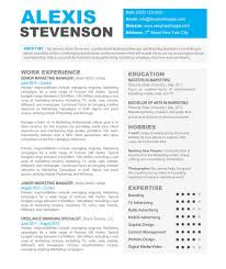 11 creative resume templates for mac pages resume template info creative resume templates for mac by alexis stevenson