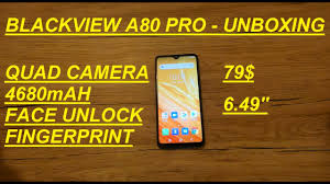 <b>Blackview A80 PRO</b>-Unboxing!Impressive for Only 79$!Quad ...