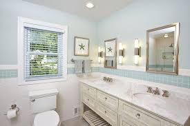 bathroom wall tiles blue paint cottage bathroom features blue paint on upper walls and a mi of white