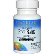 Planetary Herbals <b>Full Spectrum Pine Bark</b> Extract - 30 Tablets ...