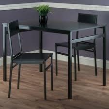 Milton Transitional <b>3</b>-<b>Piece Dining Set</b> - Bronze/Black | Dining table ...