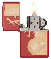 <b>Зажигалка</b> Zippo <b>Classic</b> с покрытием <b>Red</b> Matte, 29661 на ZIPPO ...