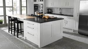 kitchen decoration enjoyable white wooden kitchen cabinet with three drawer as storage and black granite top black white modern kitchen tables
