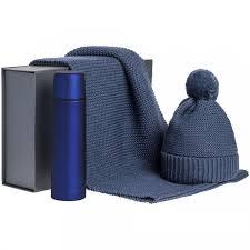 <b>Набор Warmer Brothers</b>, синий | Многоформатная типография ...