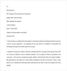 sample business analyst cover letter     download free documents    business analyst cover letter sample