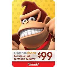 Nintendo eShop $99 Gift Card [Digital] 105761 - Best Buy