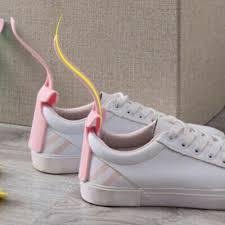 <b>1pc Lazy Shoe</b> Horn Unisex Shoes Wear Helper Colorful Shoehorn ...