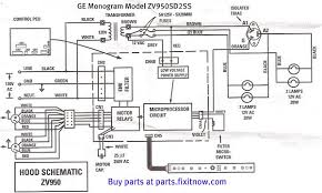 ge oven wiring diagram ge wiring diagrams online ge monogram vent hood model zv950sd2ss schematic