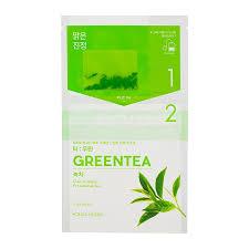 <b>Чай</b>-<b>маска</b> Instantly Brewing Tea Bag Mask Green Tea с зеленым ...