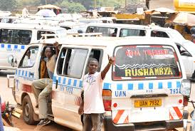 Image result for people alighting from a taxi in uganda