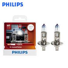 <b>Philips H1 12V 55W</b> P14.5s X treme Vision Auto Headlight Bright ...