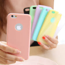 Ultra thin Solid Color Matte <b>Candy Color Case for</b> iPhone 5 5S 6 6S ...