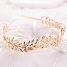 <b>Baroque</b> Leaf <b>Crown Wedding Bride Headband</b> Leaves <b>Tiara</b> ...
