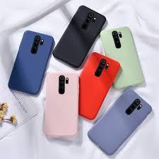 Xiaomi Redmi 9 Case <b>Soft Liquid Silicone Mobile</b> Phone Cover ...