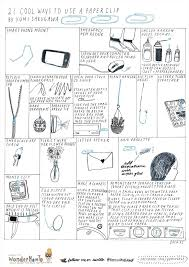 cool ways to use a paper clip the secret yumiverse got your own clever uses for paper clips share us by commenting below click on image to enlarge