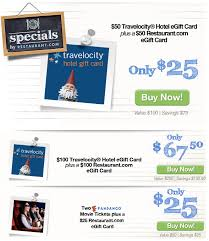 $50 Travelocity Gift Card for $25 or $100 Gift Card for $67.50, plus ...