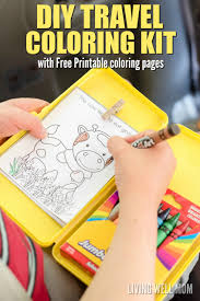 kids travel kit binder over printable activities keep your kids occupied on road trips this easy to make diy travel