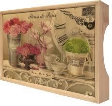 """<b>Поднос Gift'n'Home</b> """"Парижские цветы"""", 25 х 37,5 см — купить в ..."""