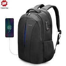 Tigernu Brand <b>Backpacks</b> Male Student College <b>School Bags</b> ...