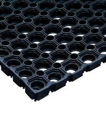 <b>Коврик</b> придверный <b>резиновый</b> черный 150х100 см 16 мм