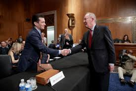 trump s fda pick says tackling opioid crisis a top priority dr scott gottlieb left president donald trump s nominee to head the food and drug administration fda is greeted by senate health education labor