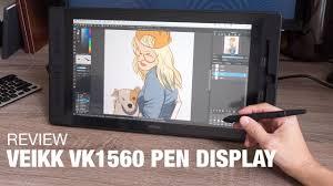 Review: <b>Veikk VK1560</b> Pen Display - YouTube