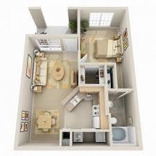 Modern One Bedroom Apartment Design Apartment 3d Small Modern One Bedroom Apartment Using Twin Sized