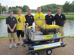 During undergrad  I worked on a student team that developed an autonomous surface vehicle for the RoboBoat competition  In       we made a clean sweep and     Perceptual Robotics Laboratory   University of Michigan