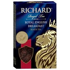Чай Richард 90г роял <b>инглиш</b> брекфаст черный крупный лист ...