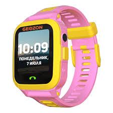 Детские <b>умные часы Geozon Active</b> Pink — купить в интернет ...