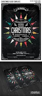 christmas party flyer poster by mariux graphicriver christmas party flyer poster holidays events