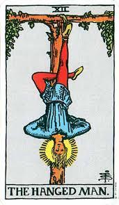 Hanged Man tarot card