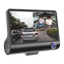 Tecney <b>3 Cameras</b> Lens 4.0 inch Dual Lens With Rearview <b>Camera</b> ...