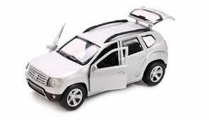Металлическая инерционная машина - <b>Renault</b> Duster, 12 см от ...