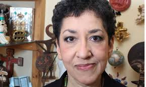 When she came to the Guardian Book Club to talk about Small Island, Andrea Levy was asked to do ... - Andrea-Levy-007