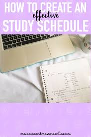 17 best ideas about study schedule college how to create an effective study schedule