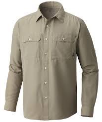 <b>Рубашка</b> мужская <b>Mountain Hardwear Canyon</b> LS Белый - купить в ...