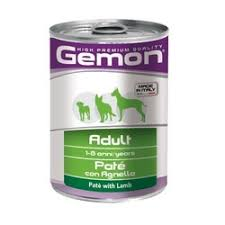 <b>Gemon Dog консервы</b> для собак паштет ягненок - 400 гр х 24 шт