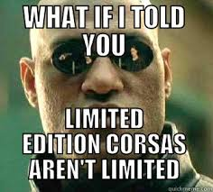 Vauxhall Corsa Owners - quickmeme via Relatably.com