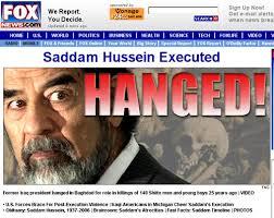 「2006, sadam fsein hanged」の画像検索結果