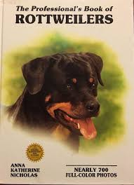 decor uk accslx x: the professionals book of rottweilers professional book of series anna katherine nicholas  amazoncom books