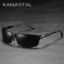 <b>KANASTAL Metal Steampunk Sunglasses</b> Polarized Oval Mirror ...
