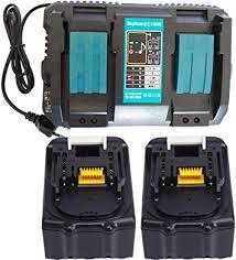 YASI MFG <b>2pcs</b> BL1830 18V 3.0Ah Battery & DC18RD <b>Fast Charger</b> ...