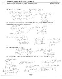 algebra  test solutions test solutions