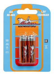 <b>Батарейки AA</b> HR6 аккумулятор Ni-Mh 1300 mAh 2шт., купить ...