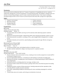 restaurant resume template bar manager sample for butcher manager restaurant resume template bar manager sample for professional tourism templates showcase your resume templates tourism professional
