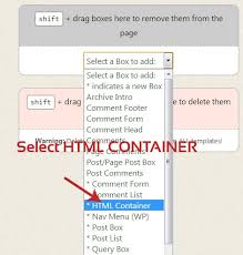 How to make Full Width Header in Thesis Freeze Coders Add Container box    Full Width Header Thesis