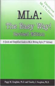 Amazon com  MLA Handbook eBook  The Modern Language Association of     MLA In Text Citations English Composition I Sample of text showing an in text citation with